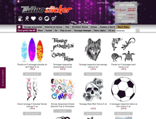 tattoo-sticker.com screenshot