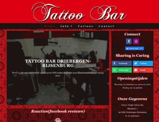 tattoobar.nl screenshot
