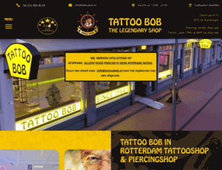 tattoobobkatendrecht.nl screenshot