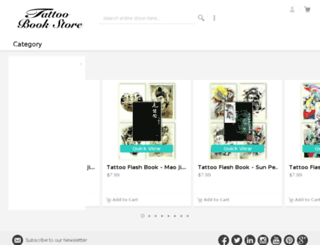 tattoobookstore.net screenshot