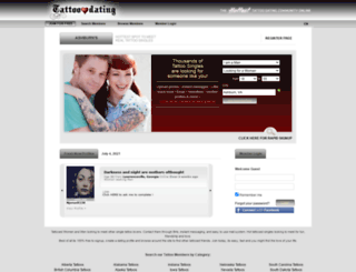 tattoodating.com screenshot