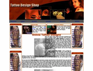 tattoodesignshop.com screenshot