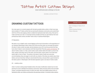 tattoodesignspictures.com screenshot