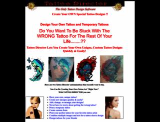tattoodirector.com screenshot