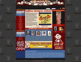 tattoodles.com screenshot
