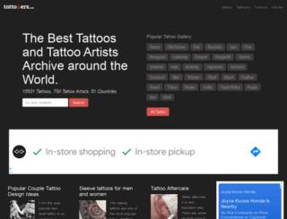 tattooers.net screenshot