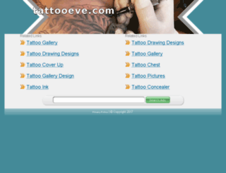 tattooeve.com screenshot