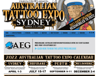 tattooexpo.com.au screenshot