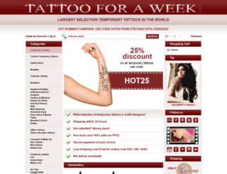 tattoofashion.com screenshot