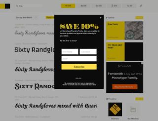 tattoofonts.com screenshot