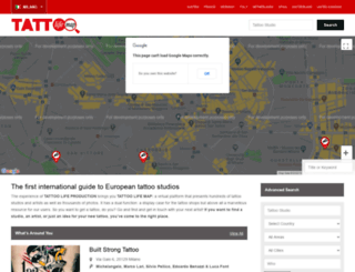 tattoolifemap.com screenshot