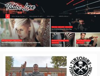 tattoolove.org screenshot