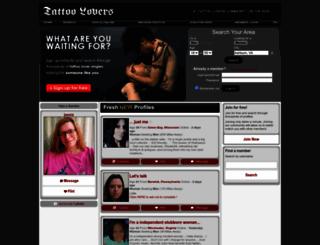 tattoolovers.com screenshot