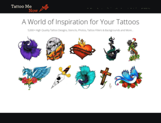 tattoomenow.com screenshot