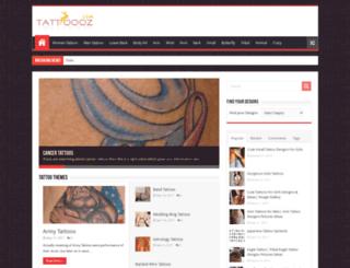 tattoooz.com screenshot