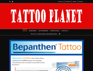 tattooplanet.nl screenshot