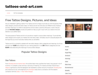 tattoos-and-art.com screenshot