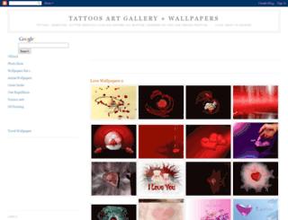 tattoosartgallery.blogspot.com screenshot