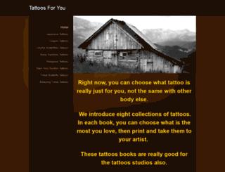 tattoosbook.weebly.com screenshot