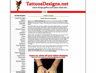 tattoosdesigns.net screenshot