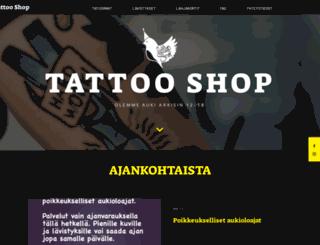 tattooshop.fi screenshot