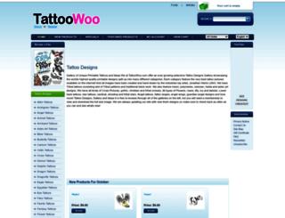 tattoowoo.com screenshot