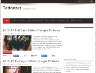 tattoozat.com screenshot