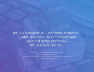 tatuajebucuresti.ro screenshot