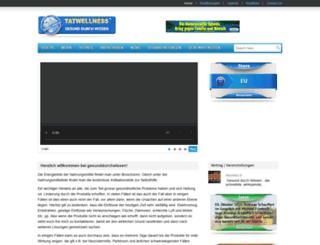 tatwellness.com screenshot