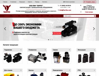 tau-rus.com screenshot