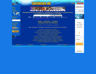 tauchbasen.net screenshot