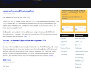 tauchen-und-urlaub.com screenshot