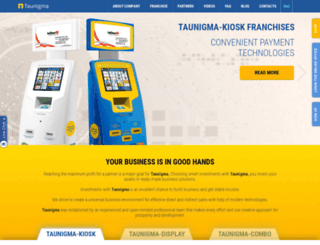 taunigma.com screenshot