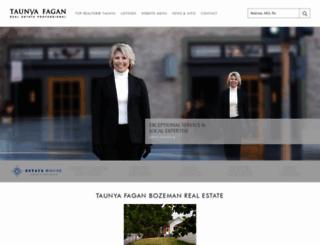 taunyafagan.com screenshot