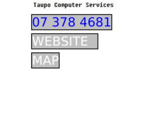 taupocomputers.co.nz screenshot