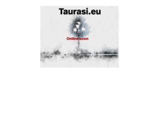 taurasi.eu screenshot