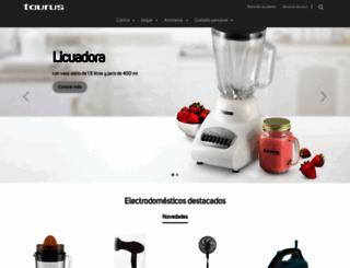 taurus.com.mx screenshot