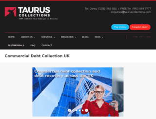 tauruscollections.com screenshot