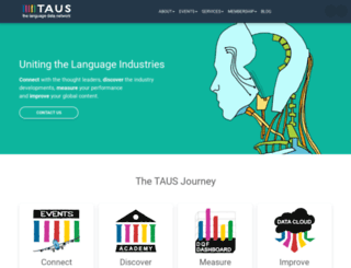 taus.net screenshot