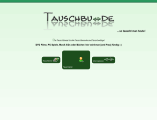 tauschboutique.de screenshot
