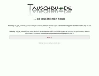 tauschgigant.de screenshot
