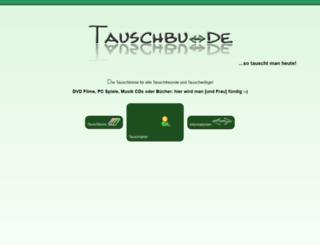 tauschtreffen.de screenshot