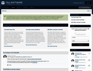 tausoft.org screenshot