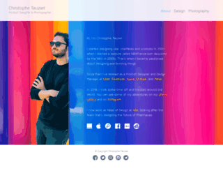 tauziet.com screenshot