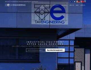 tav-engineering.com screenshot
