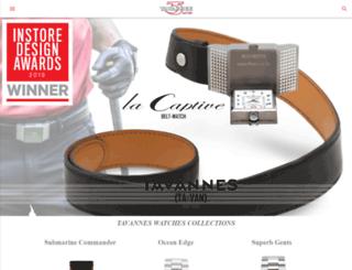 tavanneswatches.com screenshot