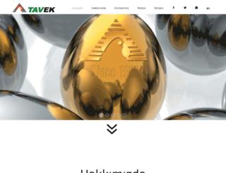 tavek.com screenshot