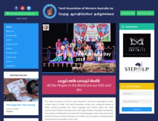 tawa.org.au screenshot
