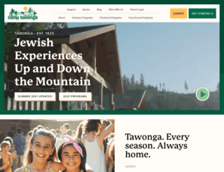 tawonga.org screenshot