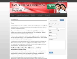 tax-help.org screenshot